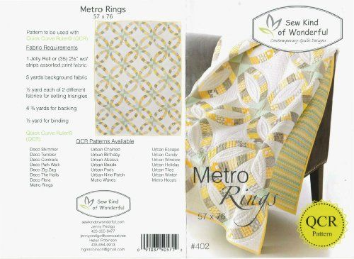 Sew Kind of Wonderful Metro Rings Pattern