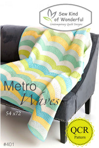 Sew Kind of Wonderful Metro Waves Pattern