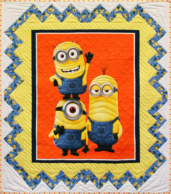 Minion  STORE SAMPLE QUILT - ONLY ONE AVAILABLE