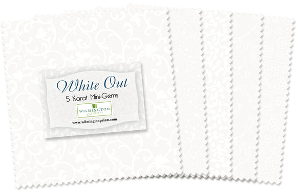 Wilmington Prints  White Out Charm Pack