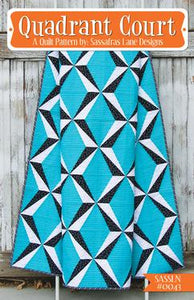 Sassafras Lane Designs Quadrant Court Pattern