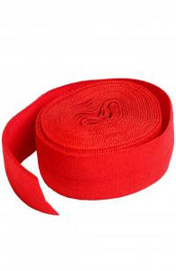 byAnnie Fold-Over Elastic Atom Red