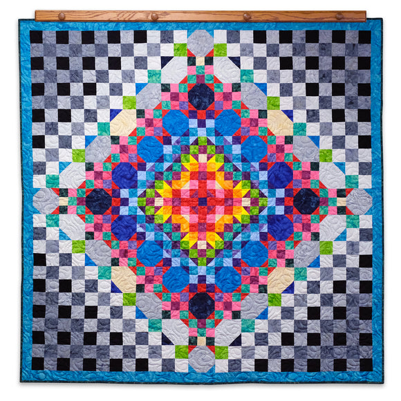 Rock Candy Batik Quilt Kit