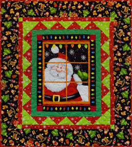 Jolly Ole' St. Nick Quilt Kit