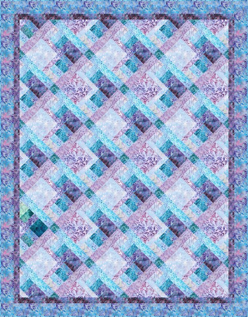 Scattered Acres Batik Quilt Kit