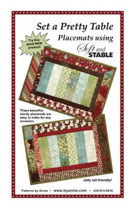 byAnnie Set A Pretty Table Placemat Pattern
