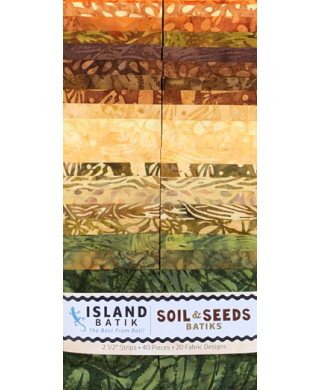 Island Batik Soil and Seeds Strips