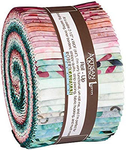 Kaufman Artisan Batiks: Spring Forward Roll-Up