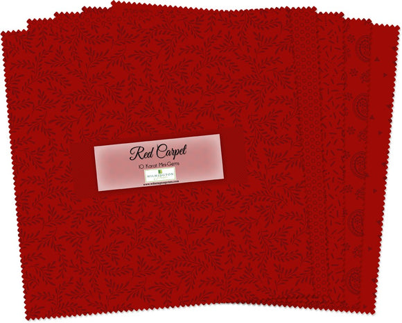 Wilmington Prints Red Carpet Charm Pack