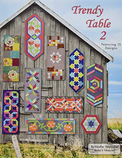 Trendy Table 2 Table Runner Book