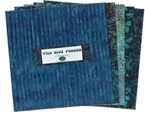 Wilmington Batiks Wild Blue Yonder Layer Cake