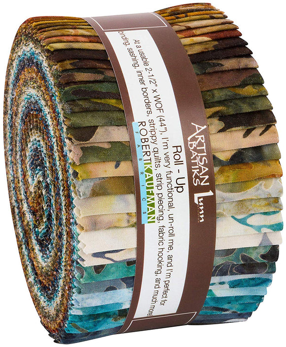 Kaufman Batiks Wildlife Sanctuary Roll-Up