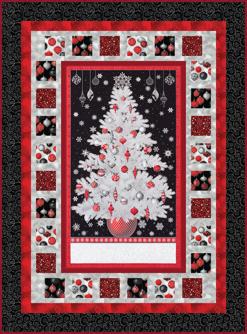 Winter Grandeur Quilt Kit
