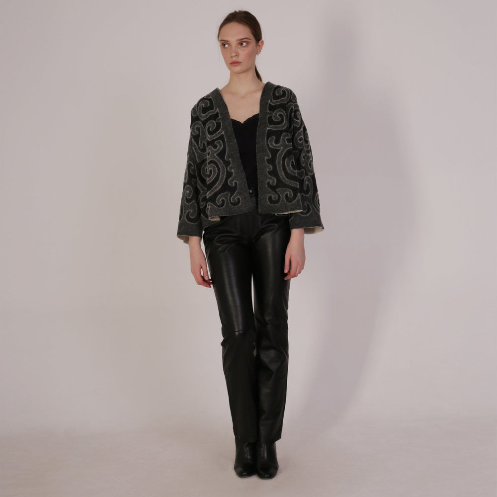 Haute Artisan Tribal Felt Jacket