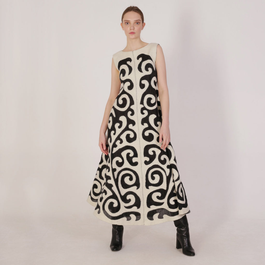 Haute Artisan Tribal Dress Nazik