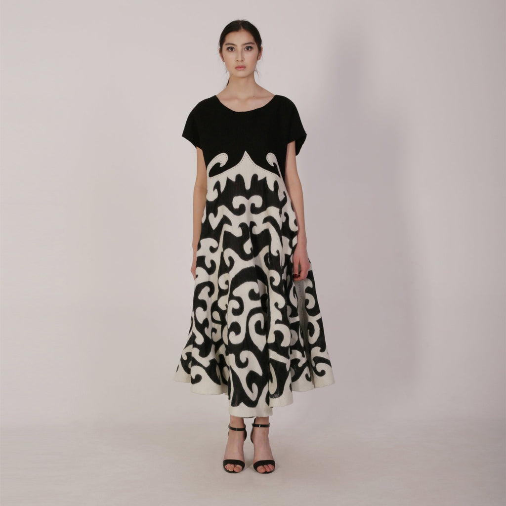 Haute Artisan Tribal Dress Aibika