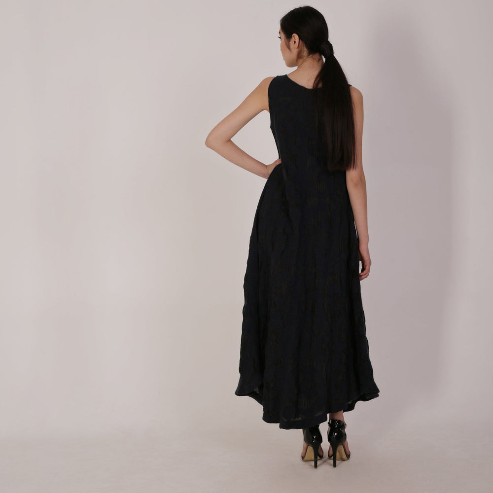 Haute Artisan Tribal Black Dress Arooke