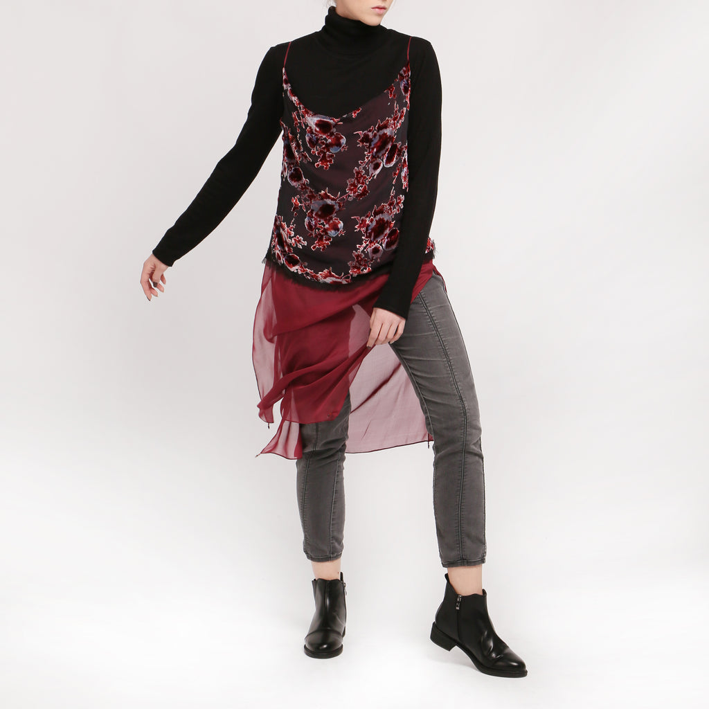 Panne Velvet Top - IZZZO Marketplace