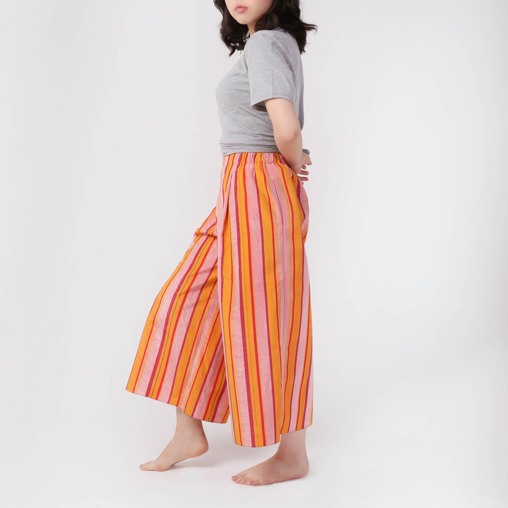 Stripe Adras Pants - IZZZO Marketplace