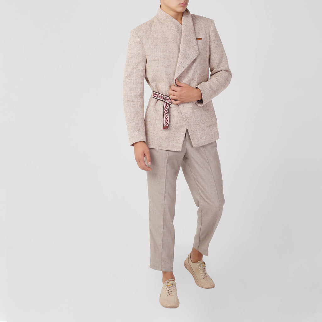 Men's Wrap Jacket - izzzo