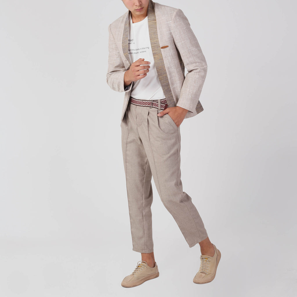 YASIN Slim Fit Blazer - izzzo