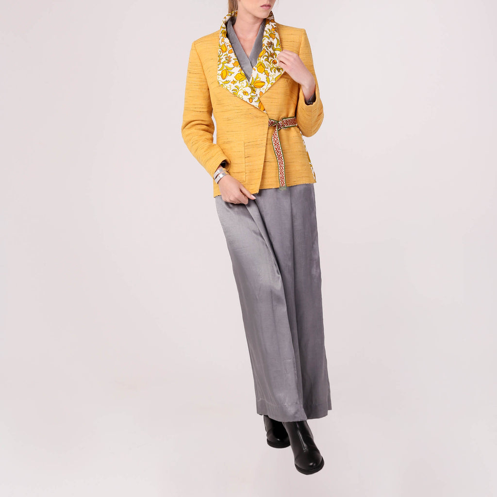 Wrap-side Blazer - IZZZO Marketplace