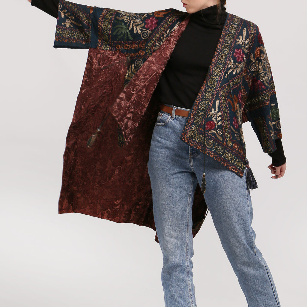 Embroidered Jacket - IZZZO Marketplace
