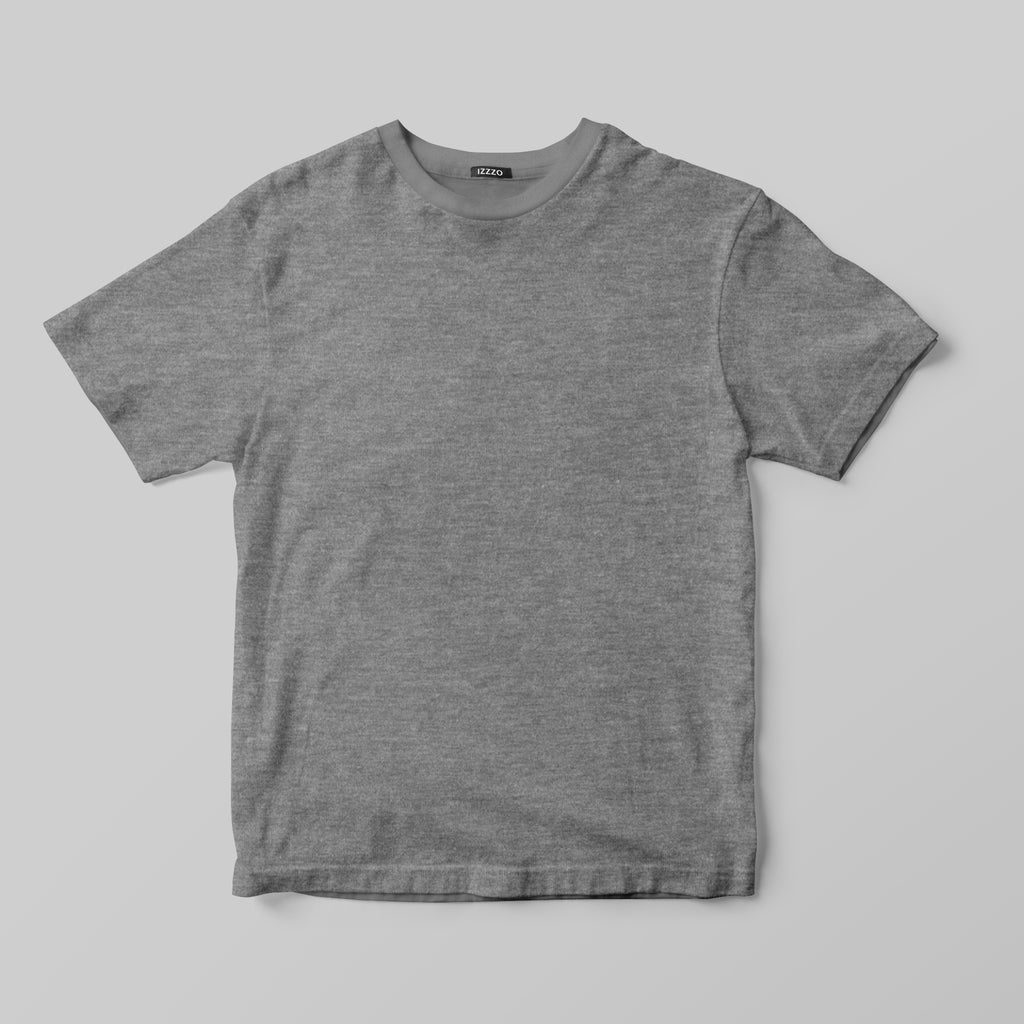 T-shirt Melange Grey - IZZZO Marketplace