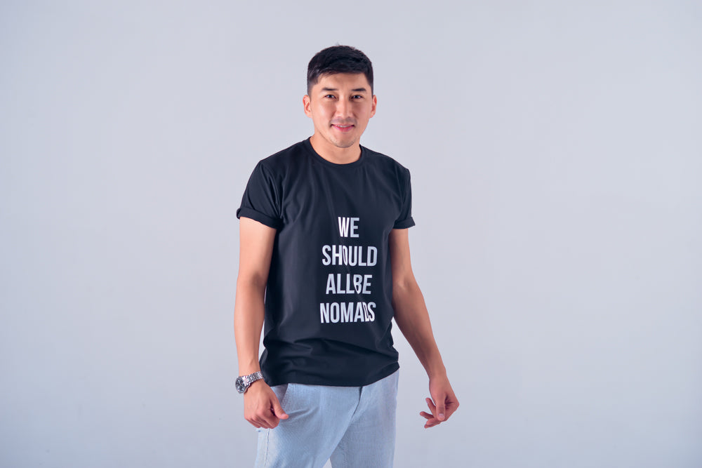 T-shirt We Should All Be Nomads - IZZZO Marketplace
