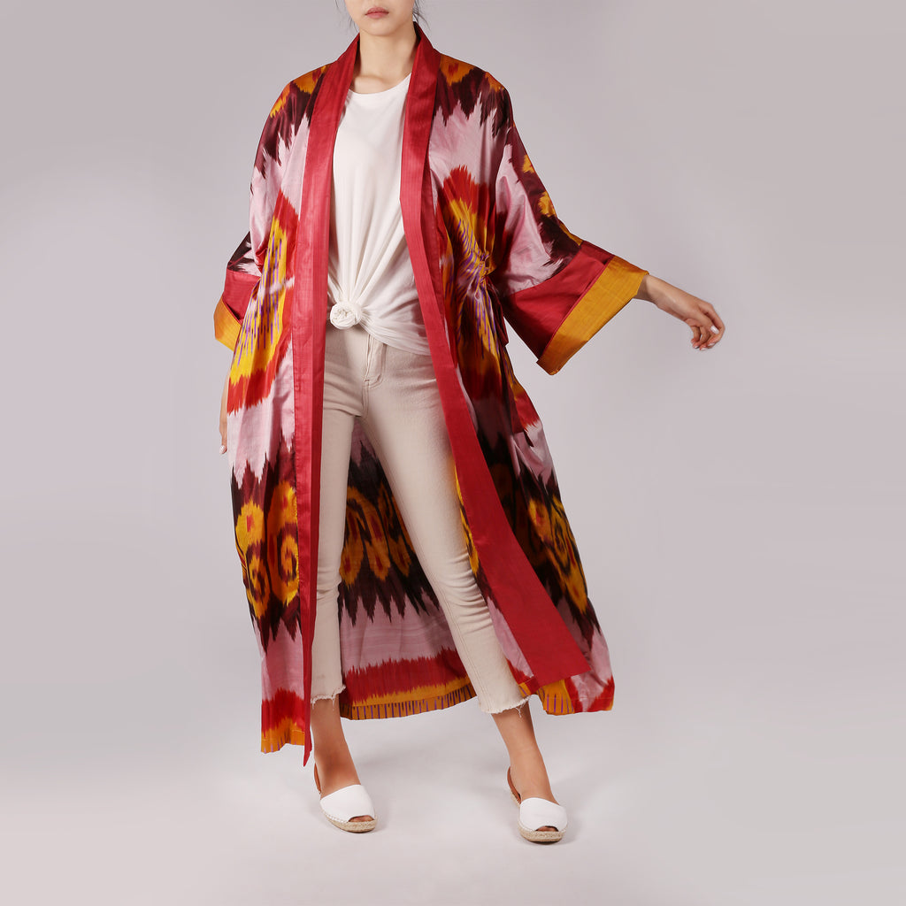 Oriental Duster Coat - IZZZO Marketplace