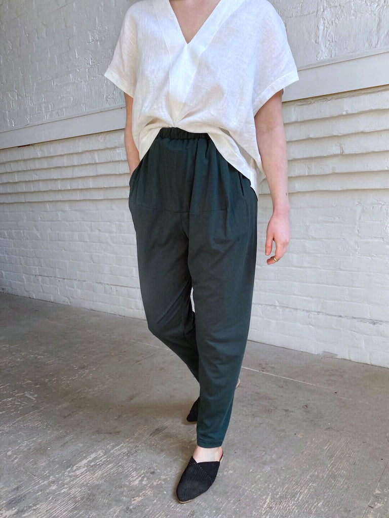 Jersey Slacks - Emerald