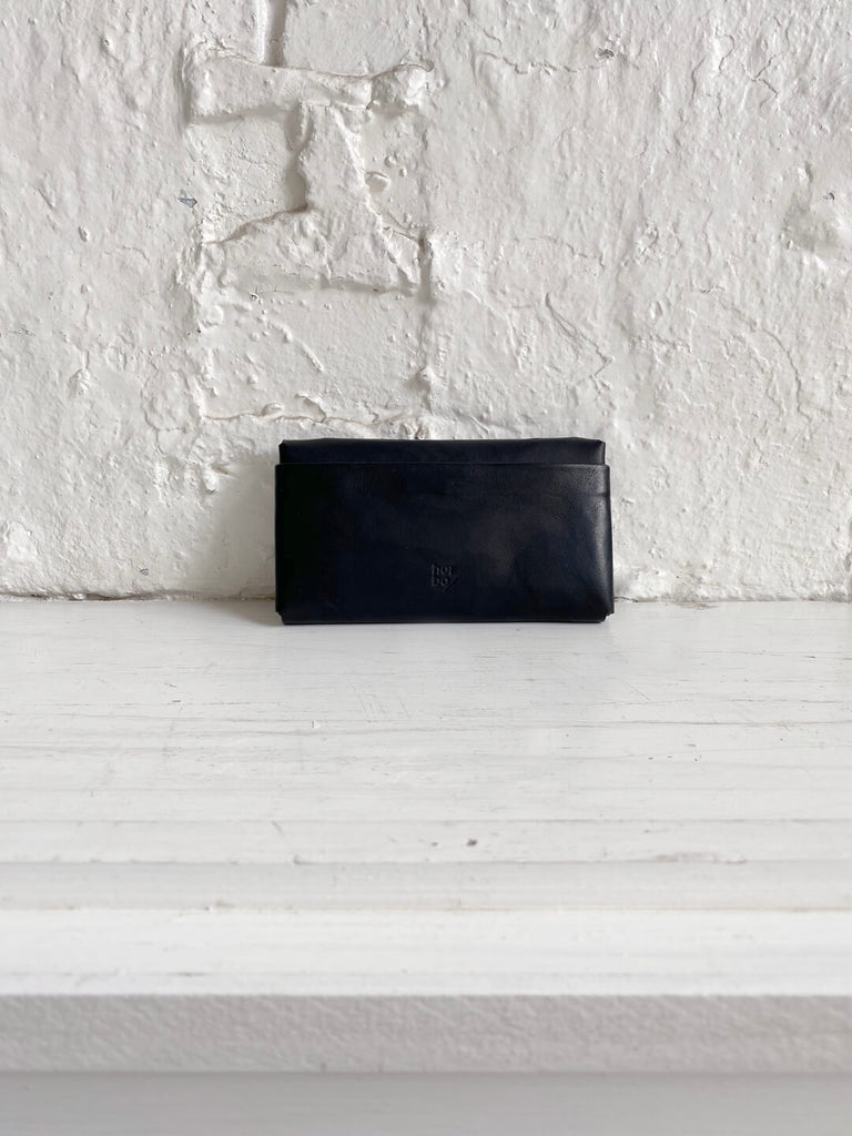 Kangaroo Pleated Wallet - Kohl