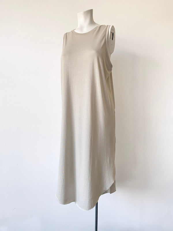 Racerback Dress - Bone