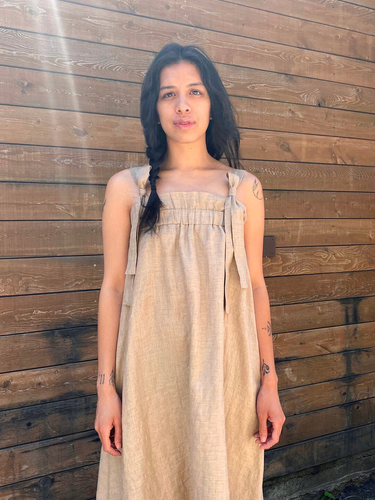 Linen Sundress - Hazel