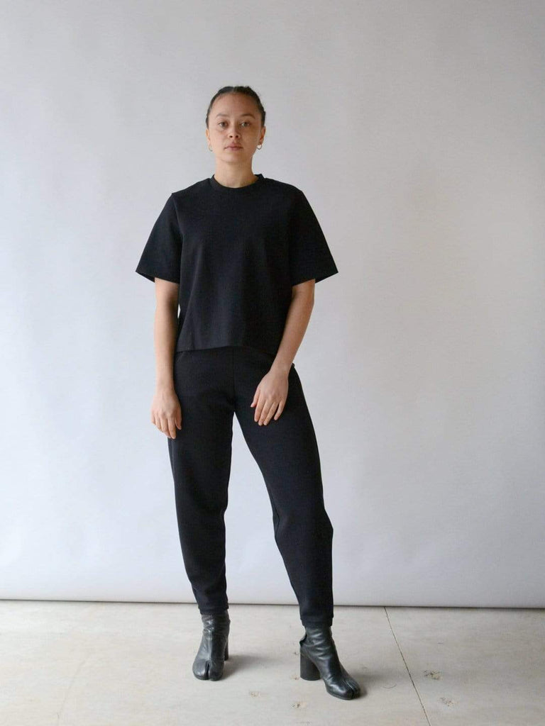 Structured Tee - Black
