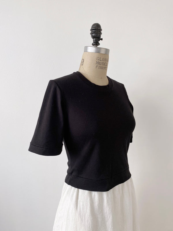 Bell Sleeve Tee - Black