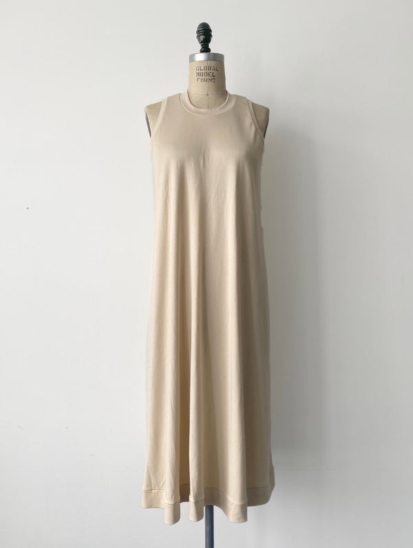 A-Frame Dress in Parchment - Large
