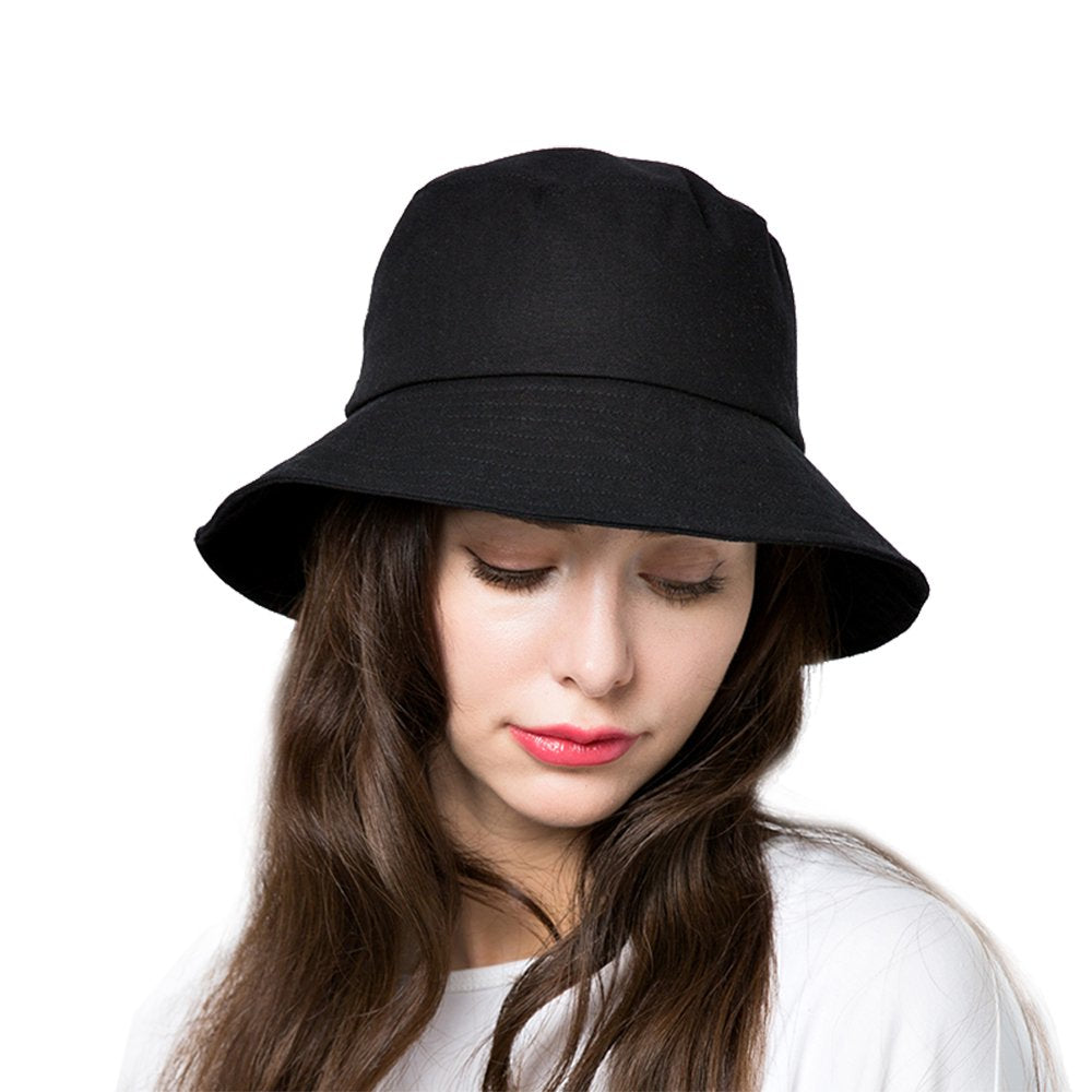 (Bucket Hat) Hair Wig Cap-Buy 2 Free Shipping