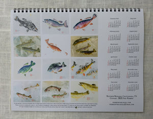 The Mighty Bluegill 2019 Calendar