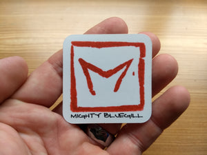 Mighty Bluegill Logo Decal