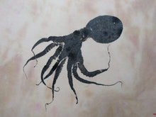 Load image into Gallery viewer, Octopus Original Gyotaku. 16x20