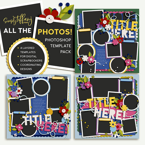 All the Photos Template Pack 1