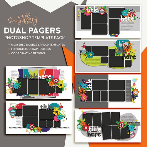 Dual Pagers Template Pack 1