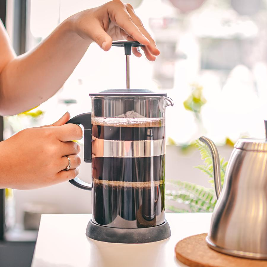 French Press with cork base - 1000ml/34 fl. / 8 cup