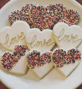 """Sprinkled with Love"" set"