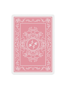Black Roses Altrosa Playing Cards Back Design