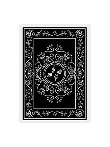 Black Roses Playing Cards V1