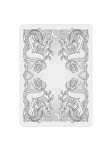 Load image into Gallery viewer, Innocence Playing Cards - Black Roses Playing Cards