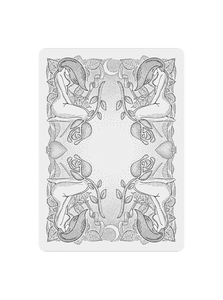 Innocence Playing Cards - Black Roses Playing Cards