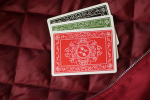 Red Roses Playing Cards by Daniel Schneider